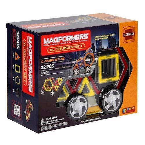 Image of   Magformers XL Cruisers, 32 dele