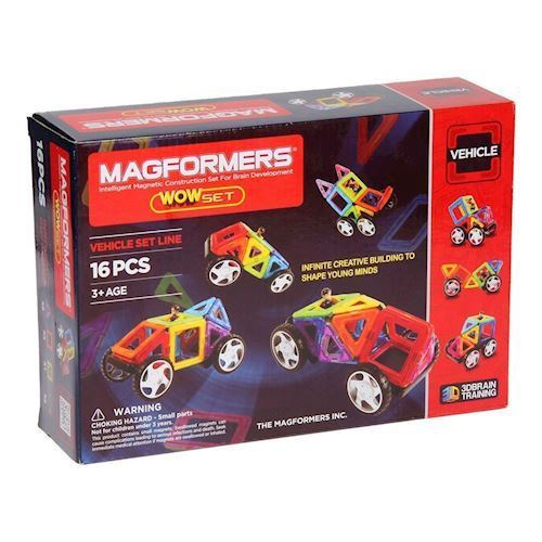 Image of   Magformers Wow, 16 dele
