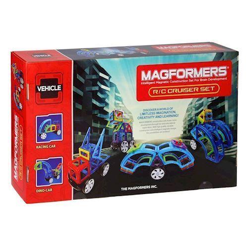 Image of   Magformers RC Cruiser, fjernstyret køretøj 52 dele