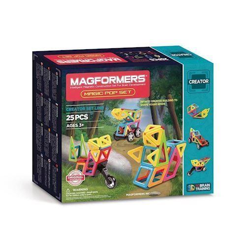 Image of   Magformers Magisk dukkesæt, 25 dele