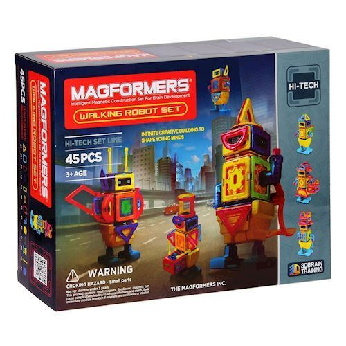 Image of   Magformers robot 45 dele