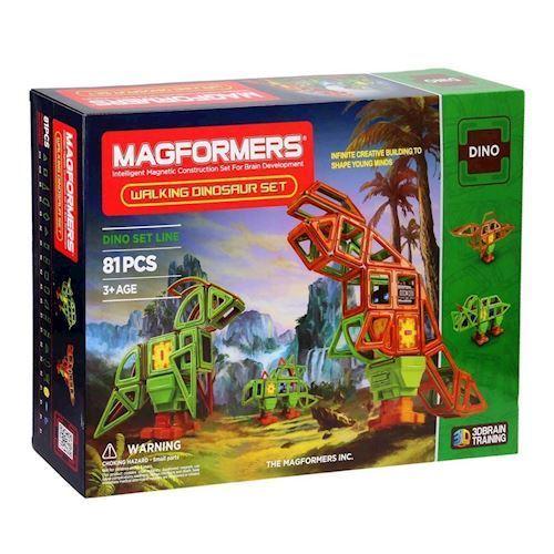 Image of   Magformers løbende dinosaur 81 dele
