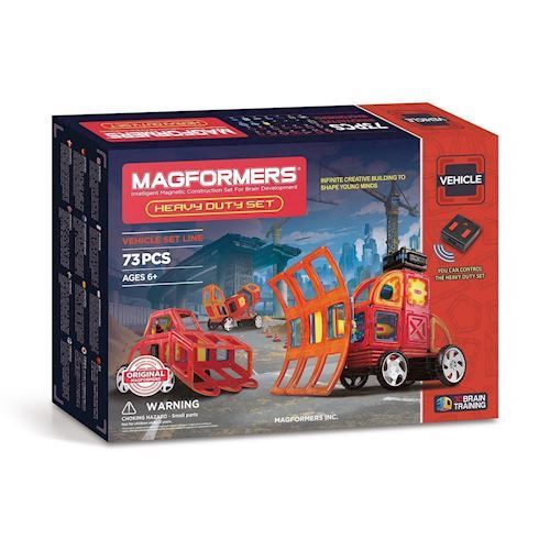 Image of   Magformers Heavy Duty Set 73 dele