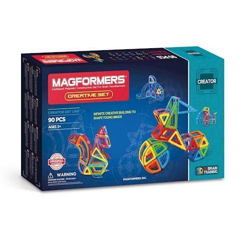 Image of   Magformers kreativt sæt, 90 dele