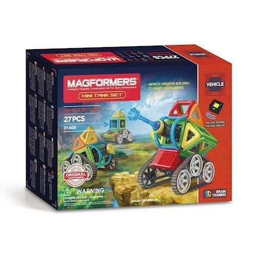 Image of   Magformers Mini Tank, 27 dele