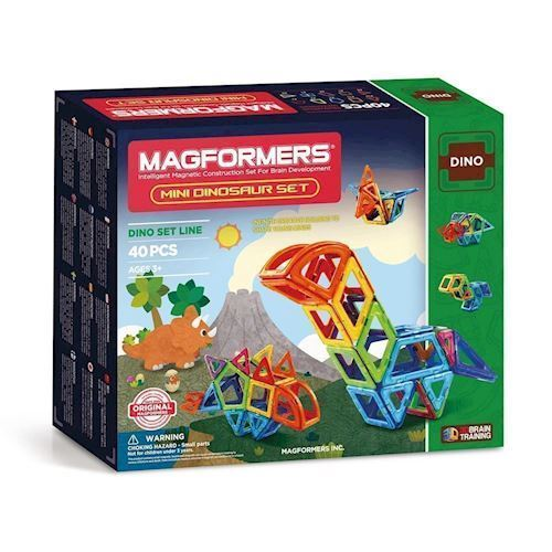 Image of Magformers Mini Dinosaur sæt, 40 dele (8809465530914)