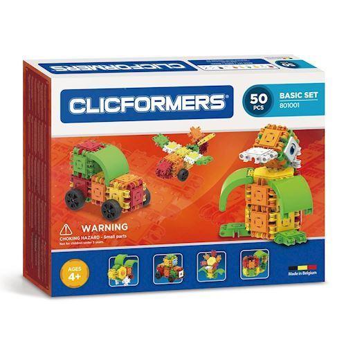 Image of Clicformers basis sæt, 50 dele (8809465532680)