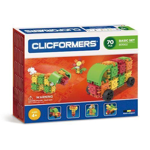 Image of Clicformers basis sæt, 70 dele (8809465532697)