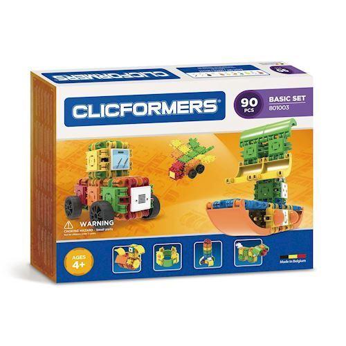 Image of Clicformers basis sæt, 90 dele (8809465532703)