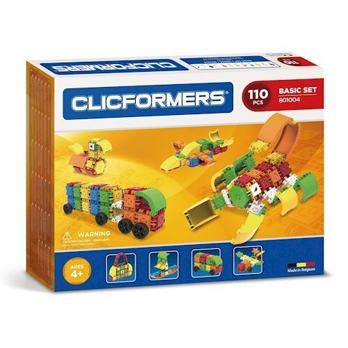 Image of Clicformers basis sæt, 110 dele (8809465532710)