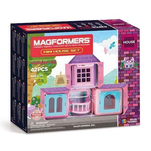 Image of Magformers Mini Hus Sæt, 42dlg. (8809465532772)