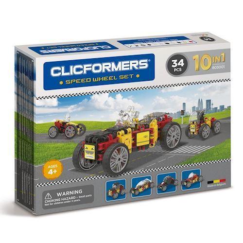 Image of Clicformers, byggesæt med biler (8809465532895)