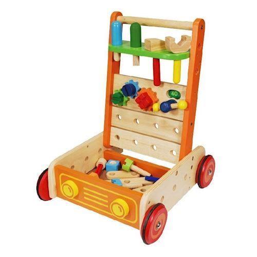 Im Toy Gåvogn med værktøj