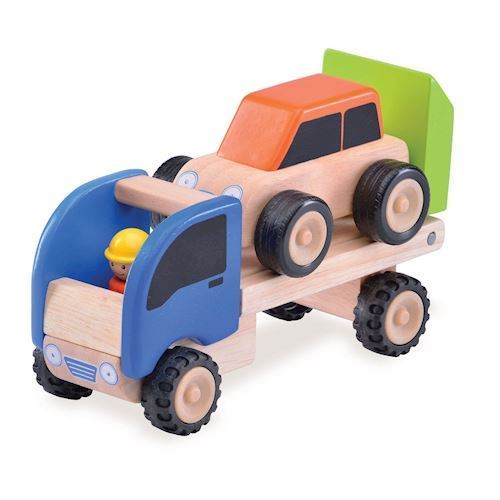 Image of   Transporter i træ, mini, Wonderworld