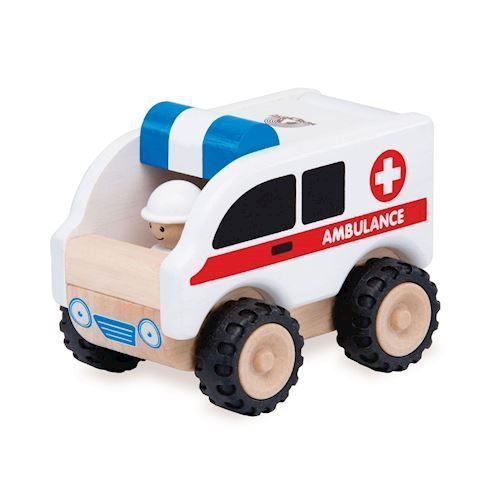 Image of Ambulance i træ, Wonderworld (8851285140620)