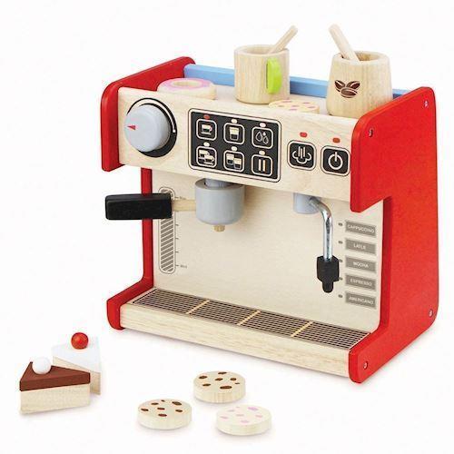 Image of   Lege kaffemaskine i træ, Wonderworld