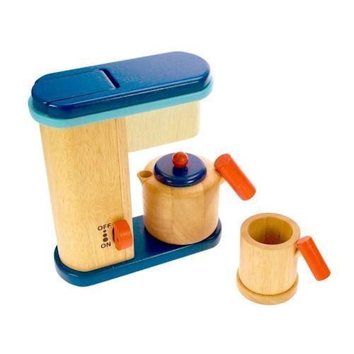 Image of Trælegetøj, Kaffemaskine
