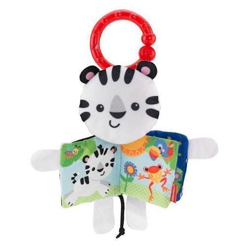 Image of   Fisher Price Legebog, Zebra