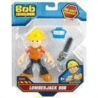Byggemand Bob,  Mini Metal Action Figur - Skovhugger Bob