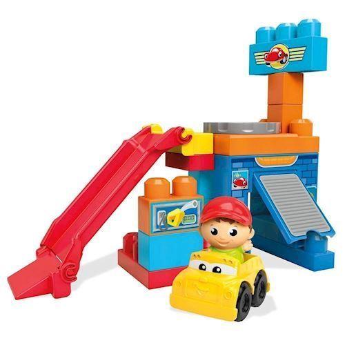 Image of Mega Block First Builders, Roterene Garage (887961251234)