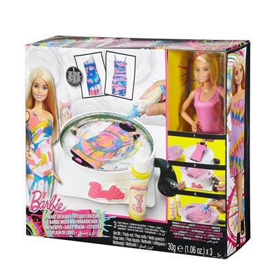Image of   Barbie dukke, DMC10 Spin Art tøj designer med dukke