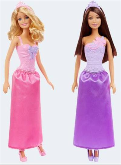 Image of   Barbie dukke, DMM06 prinsesse