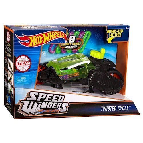 Image of   Hot Wheels Twisted Cycle Engine - sort