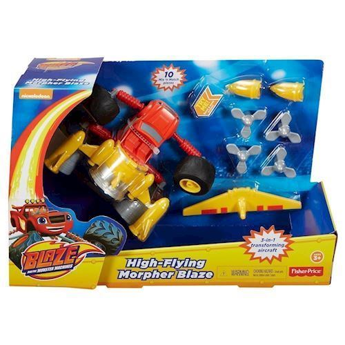 Image of Fisher Price Flying Morpher , Blaze & Monstermaskinerne (887961357707)