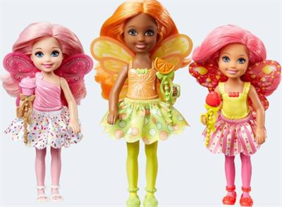 Image of   Barbie dukke, DVM87 Bonbon kongerige junior fe