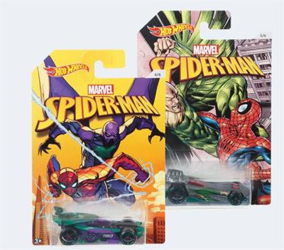Image of   HWot Wheels DWD14 Marvel Spiderman bil