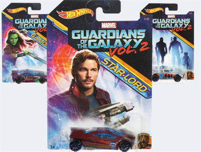 Image of   Hot Wheels DWD72 Marvel Guardians of Galaxy bil