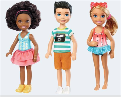 Image of   Barbie dukke, DWJ33 Chelsea