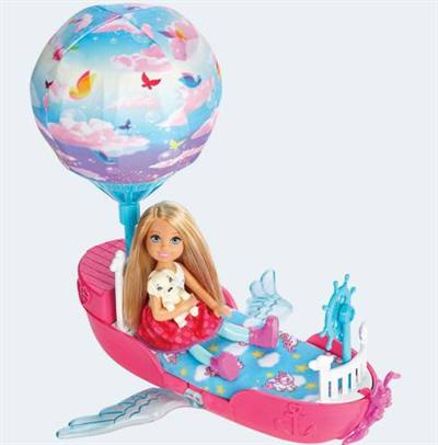 Image of   Barbie dukke, DWP59 Chelseas drømmebåd