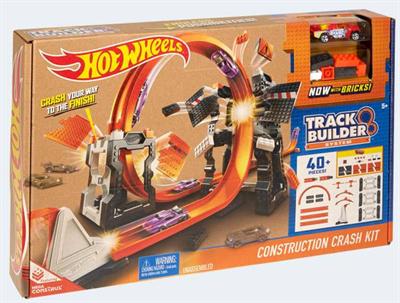 Image of   Hot Wheels DWW96 Track Builder Mega Crasher