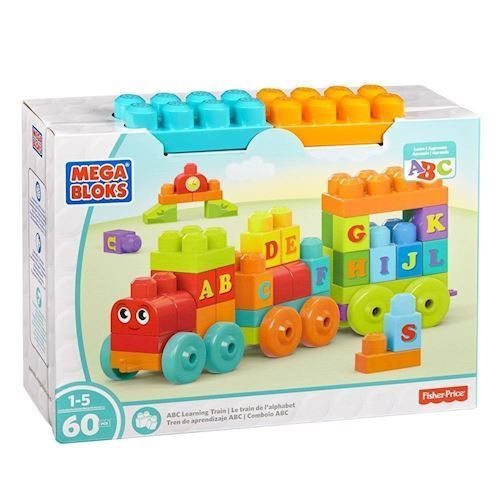 Image of Mega Bloks ABC Alphabet Train (887961397123)