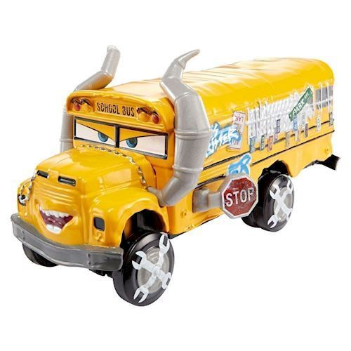 Image of   Cars 3 Diecast Great - Miss Fritter, skole bus