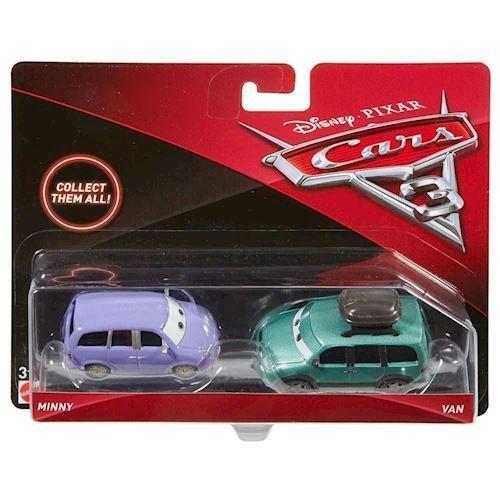 Image of   Cars 3 Diecast Duo - Minny og Van, sæt med 2 biler