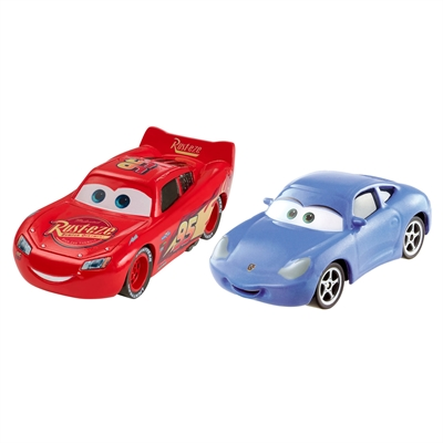 Image of   Cars 3 Diecast Duo - Lynet McQueen & Sally