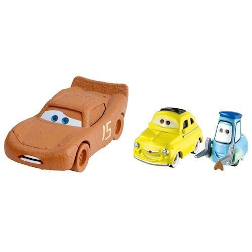 Image of   Cars 3 Diecast Duo - Lynet McQueen, Luigi & Guido