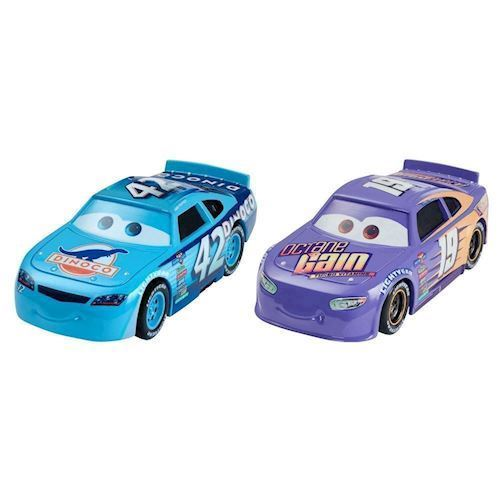 Image of   Cars 3 Diecast Duo - Bobby & Cal Weathers