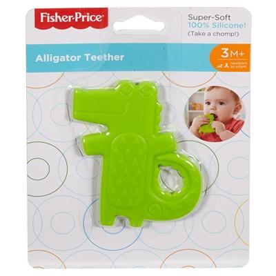 Image of   Fisher Price Play Figure - Crocodile Bijtspeeltje