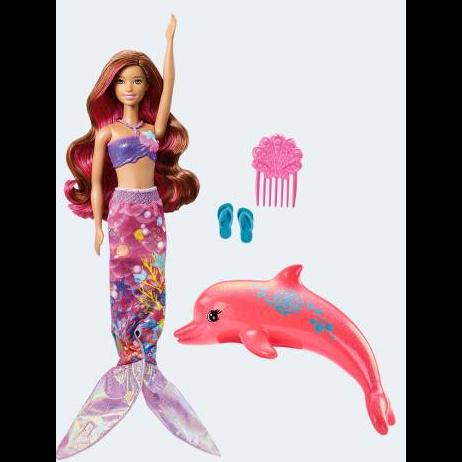 Image of   Barbie dukke, FBD64 Delfinernes magi, Havfrue