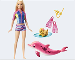 Barbie FBD64 Magic of dolphins Barbie & friends