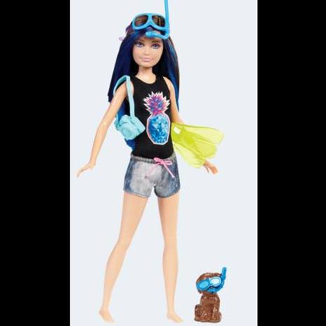Image of   Barbie dukke, FBD68 delfinernes magi, søstre