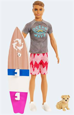 Barbie FBD71 Magic of dolphins Surfer Ken