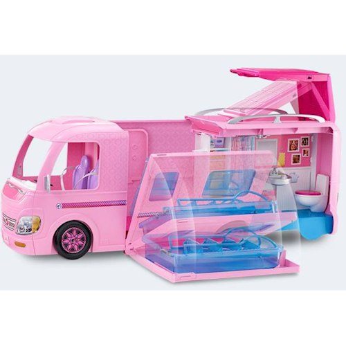 Image of   Barbie AutoCamper, bil, FBR34