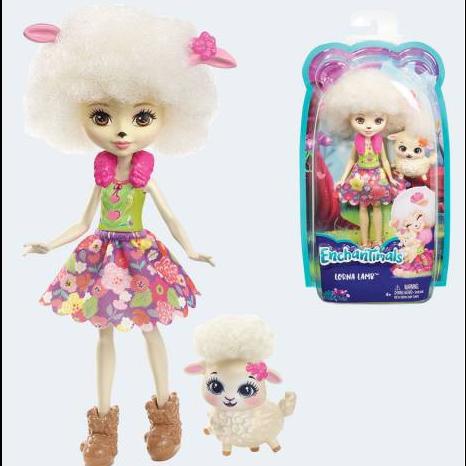 Image of Enchantimals FCG65 Lorna Lamb dukke med lam (887961450026)