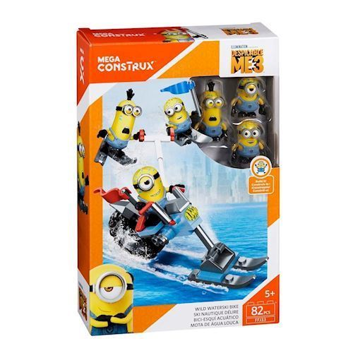 Image of Minions Minion 3 Figure Pack - Engine (887961487206)