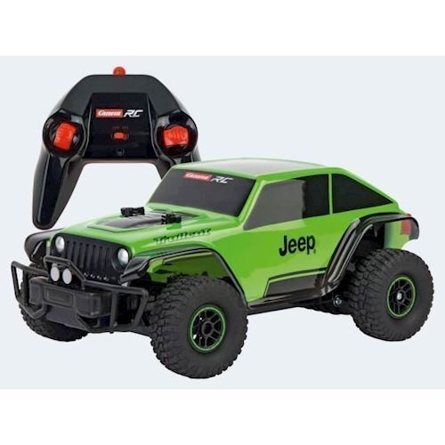 Image of Fjernstyret Carrera Jeep Trailcat 1:18 (9003150100782)