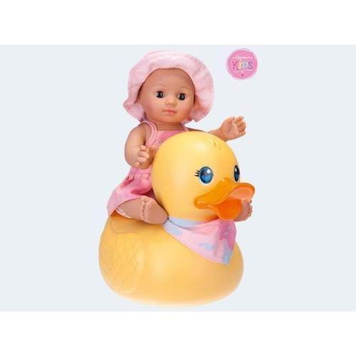 Image of   Baby dukke, bade Lilly med badedyr 30cm